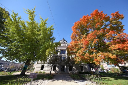 10-27-2018 Monroe County Courthouse fall foliage IMG_3506